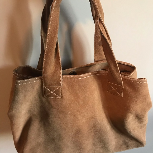 Eddie Bauer Handbags - Festival ~Hand bag ~ Lap Top bag ~ Suede Beauty!